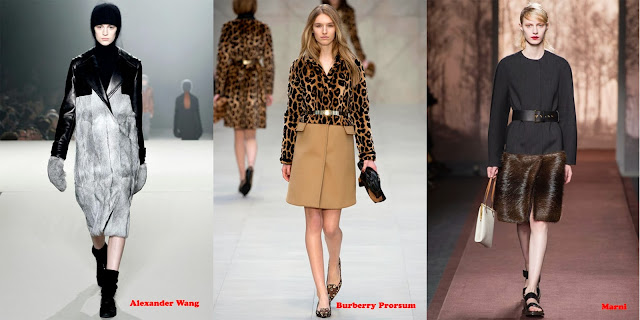 Tendencias mujer otoño/invierno 2013/14 abrigo mix: Alexander Wang, Burberry Prorsum y Marni