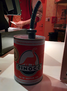 Dinoco Oil Can Sipper Disneyland 60th Anniversary Diamond Birthday Celebration