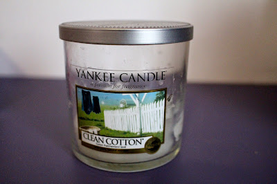 Bougie clean coton Yankee Candle