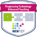 Digital badge on Progressing Technology-enhanced teaching