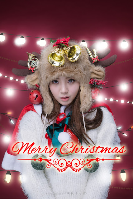 3 Lee Chae Eun - merry christmas - very cute asian girl-girlcute4u.blogspot.com