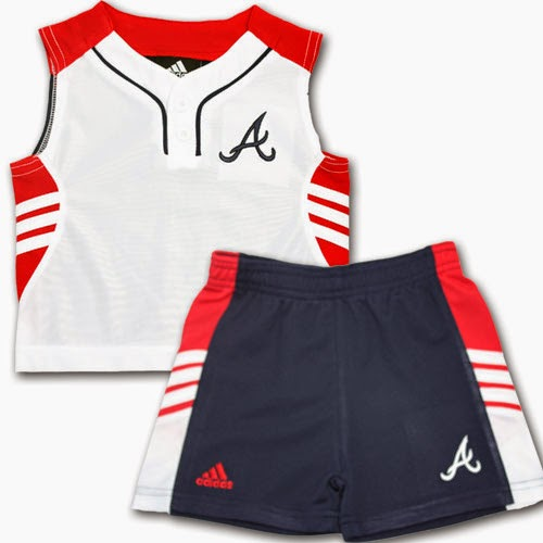 Atlanta Braves MLB Play Date Outfit