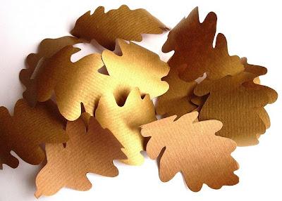 How To: Oak Leaf Yarn Wreath