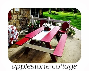 Old Decrepit Picnic Table gets a new look