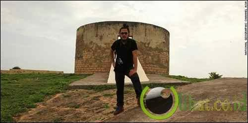 Tower of Silence, Diu, India