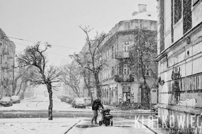 Warszawa: zimowa Nowa Praga