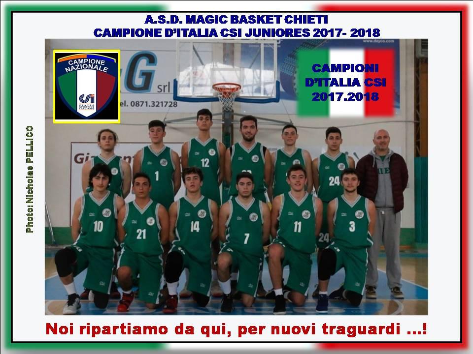 CENTRO  SPORTIVO  ITALIANO - Comitato Provinciale Chieti