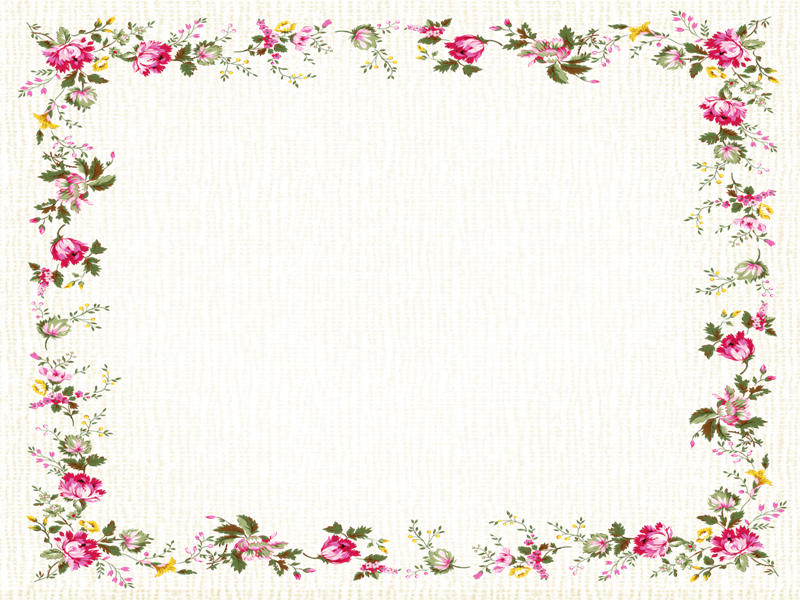 Marcos photoscape plantillas para adornar marcos para photoscape photoshop y gimp flores 23 - Marcos transparentes ...