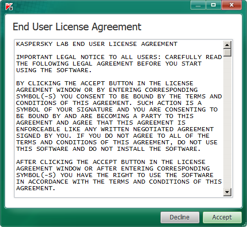 End User License Agreement TDSKiller