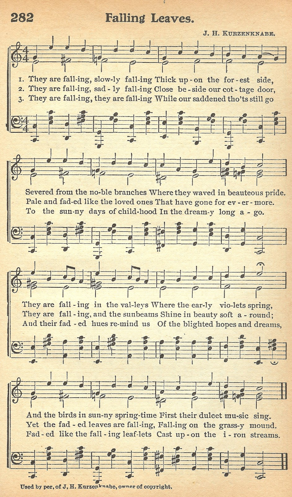 This is a graphic of Peaceful Vintage Sheet Music Printable