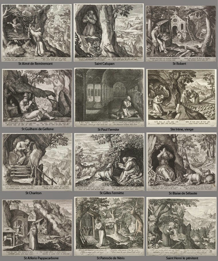 debat art figuration  les saints ermites de maerten de vos