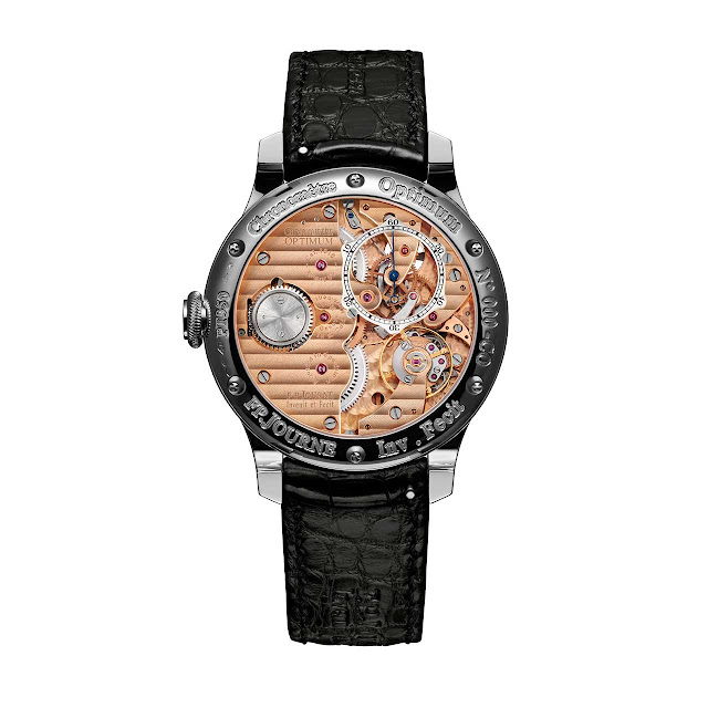 Fracois-Paul Journe - Chronomètre Optimum Watch Platinum back