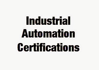 Industrial Automation Certifications