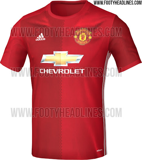 Pics: Rumoured Manchester United and Adidas shirt for 2016
