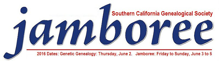 Genealogy Jamboree Blog