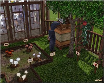 Arda sims small garden for Garden design sims 4