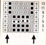 Мелкий узор с ЭЛЕМЕНТАМИ КОСЫ. Вязание спицами.  схема