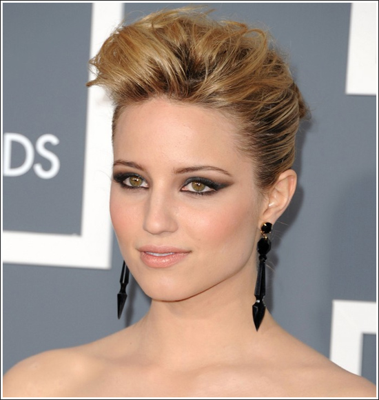 dianna agron hair Dianna Agron hair and makeup
