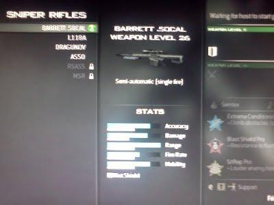 Sniper Rifles MW3