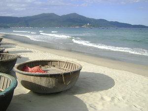 Mỹ Khê beach in Đà Nẵng city