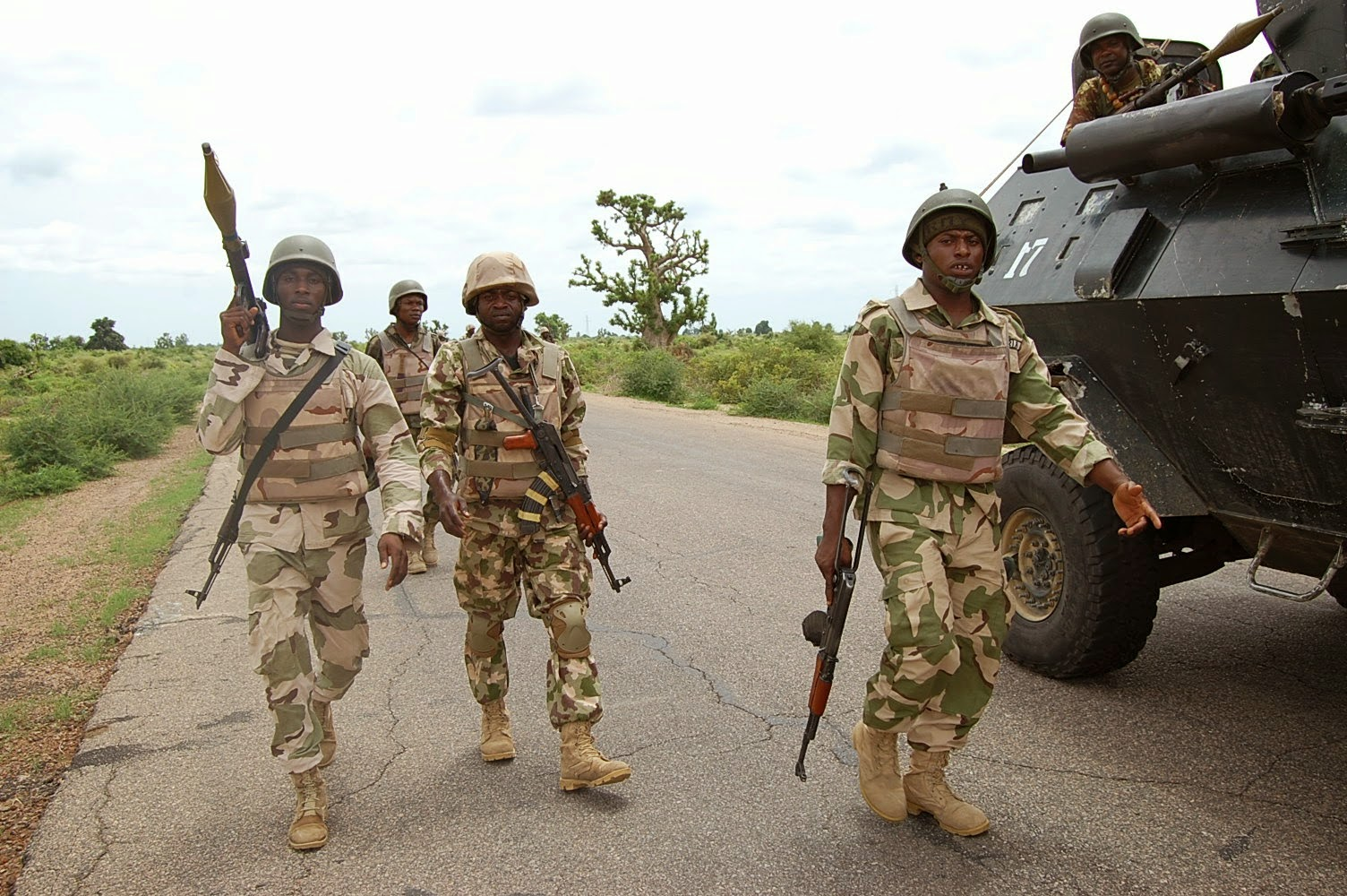 troops take over boko haram