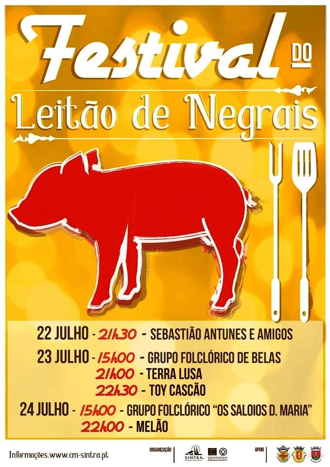 22, 23 e 24 de julho: Negrais – Sintra