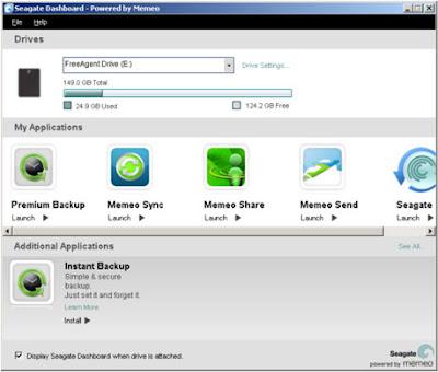 Seagate FreeAgent® GoFlex™ Desk External Drive goflex software