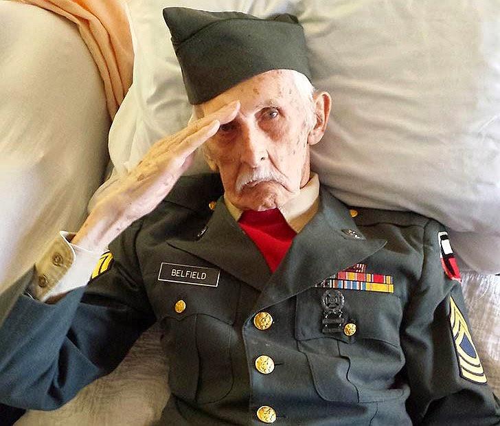 Μέχρι το τέλος της ζωής του στα 98