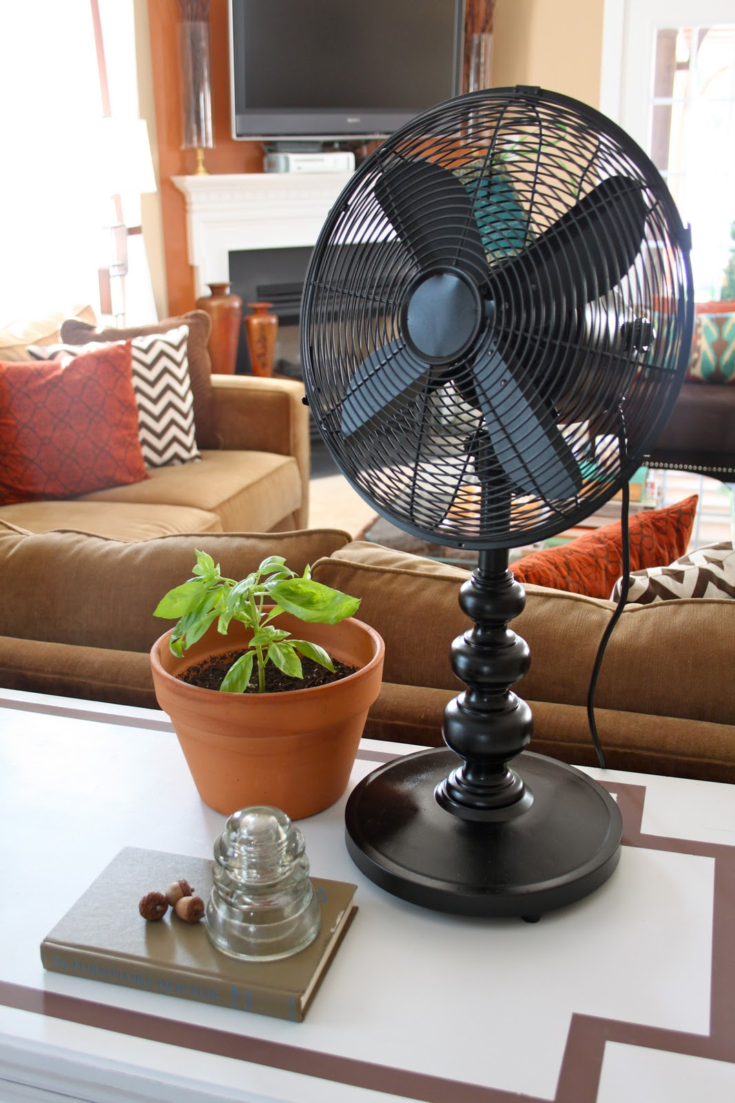Decorative Table Fans : Dwellings by devore i love it when a plan comes together