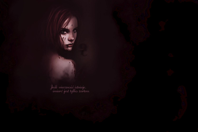 """""""Jeśli wieczność istnieje, śmierć jest tylko żartem."""" Nine Crimes SasuSaku by Sheeiren Imai"""