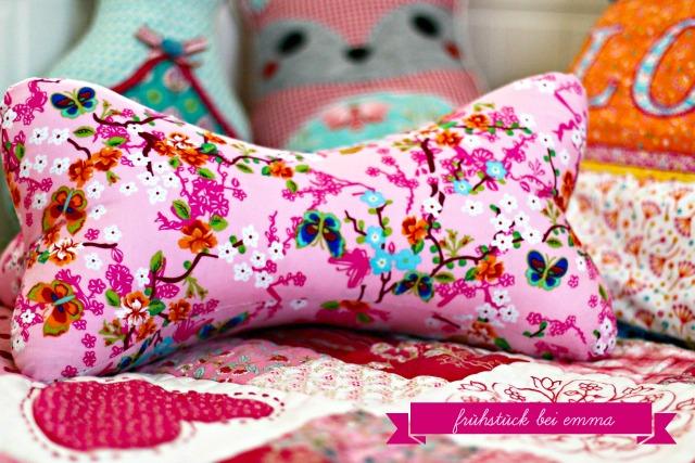 Leseknochen rosa pink Geschenk für Kinder 8 jährige