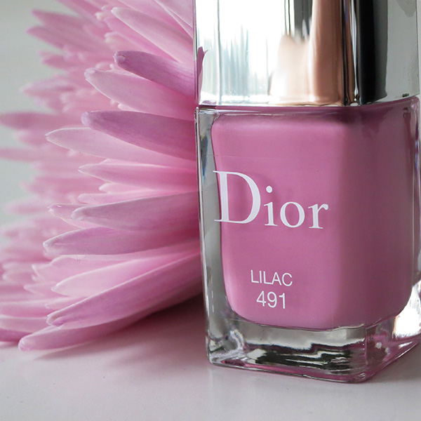 Dior Vernis Gel Shine Glowing Gardens Limited Edition Spring 2016 shade - Lilac