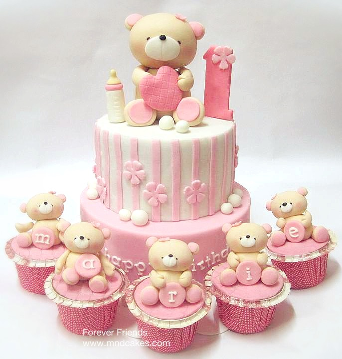 ff2Bbear2Bcake2B1 - Cakes <3 on SACHI DOSTI bday :P