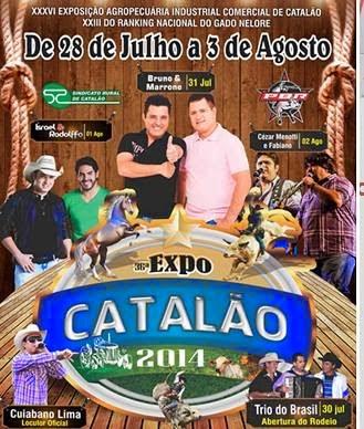 EXPO-CATALÃO 2014