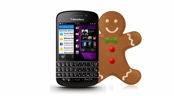 bbm gingerbread di play store