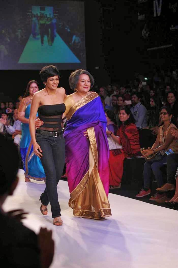 Mandira Bedi along with her mother Gita