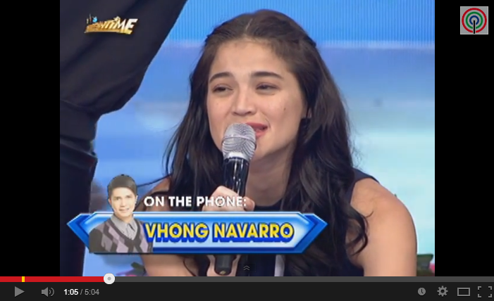 Vhong Navarro Birthday Message to Anne Curtis the Video