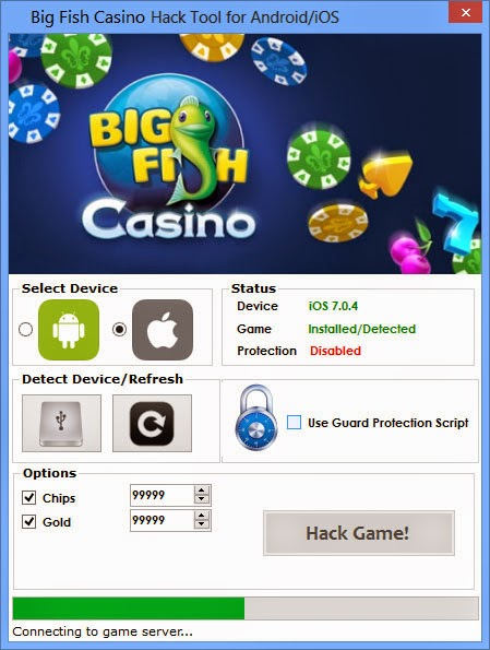 big fish casino hack android