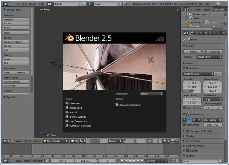 5 Open Source 3d Modelling Rendering Apps For Linux