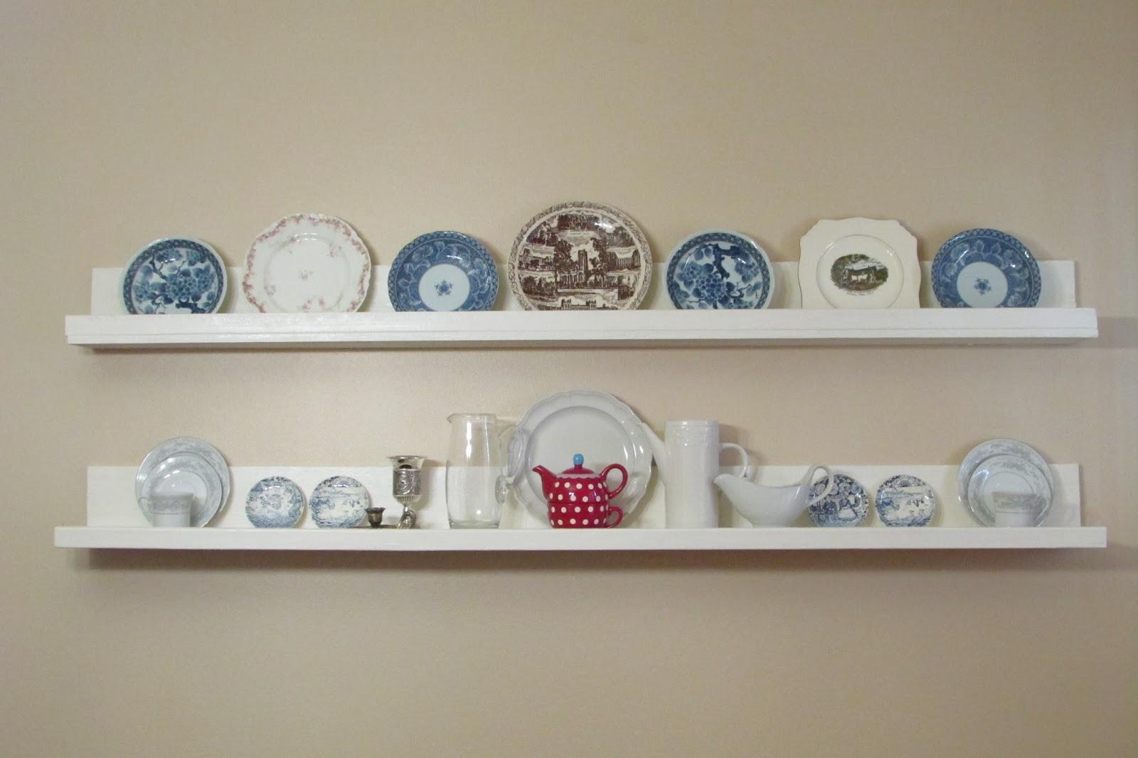 Diy Dining Room Shelves