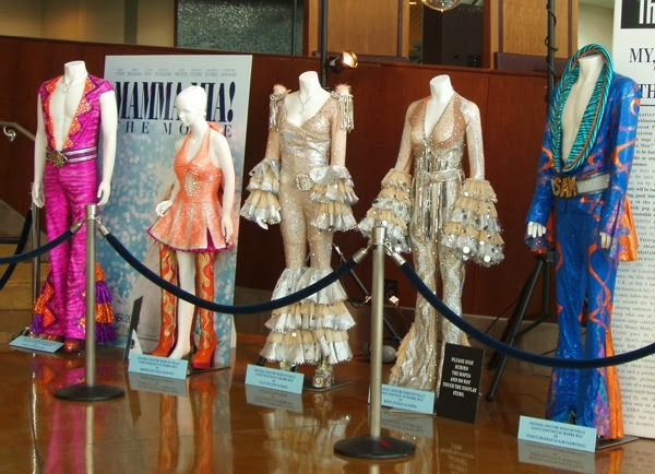 Mamma Mia movie finale costumes