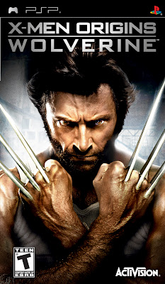 Free Download X-Men Origins Wolverine PSP Game Cover Photo