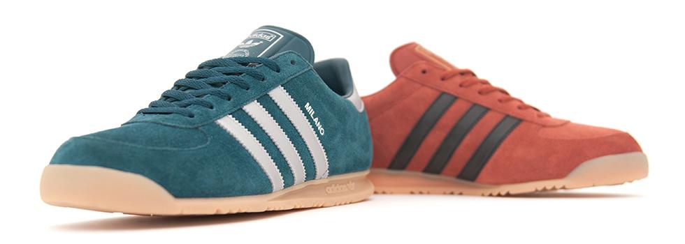 925ea64376487 Size  lanza el próximo 8 de marzo dos colores exclusivos en la gama Adidas  Originals Milano
