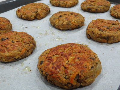 vegan mofo day 2 - mofo mondays - spicy cajun lentil patties and homemade spicy mustard