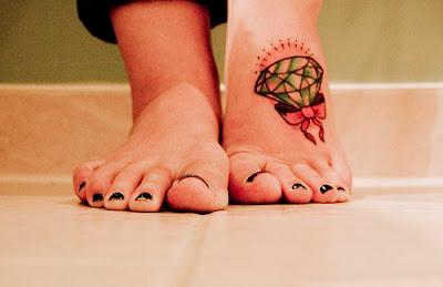 Fotos e Dicas de Tattoos no Pé