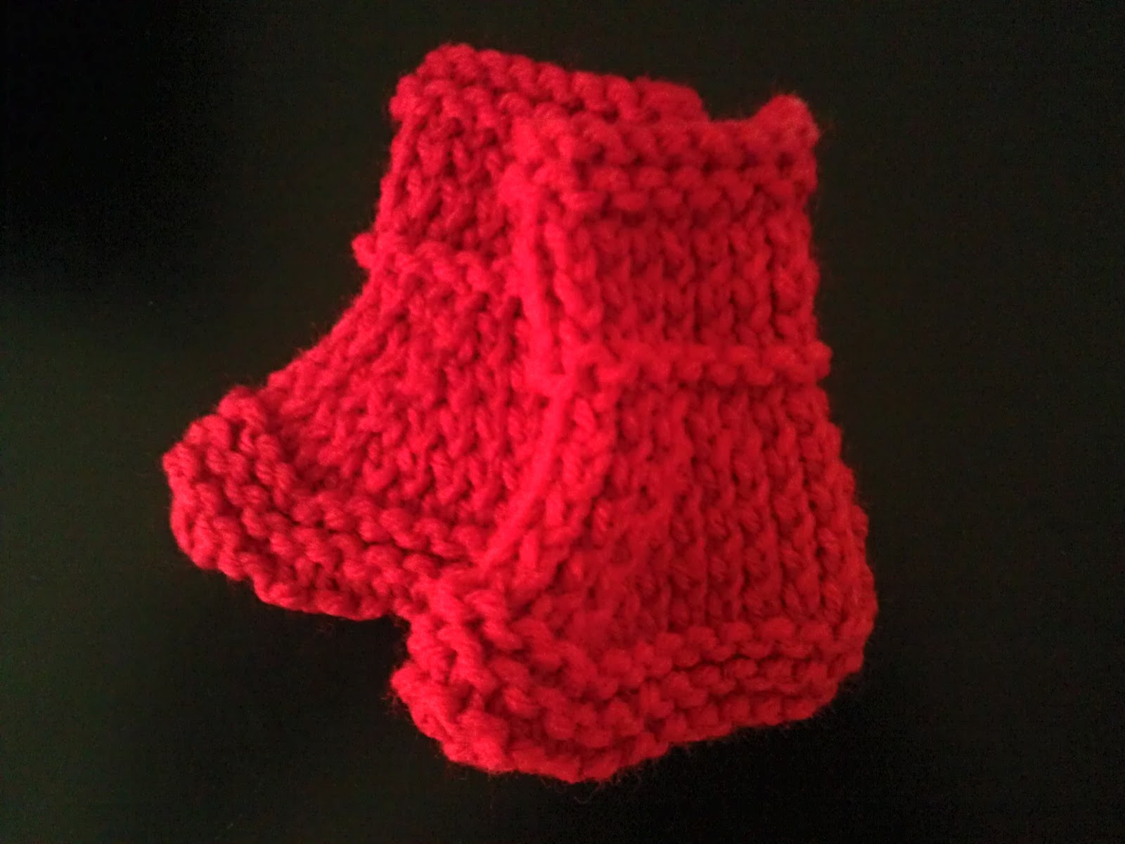 Knitting Patterns For Preemies : The Crafting Diva: Free Knitting Pattern: Preemie/Newborn Booties