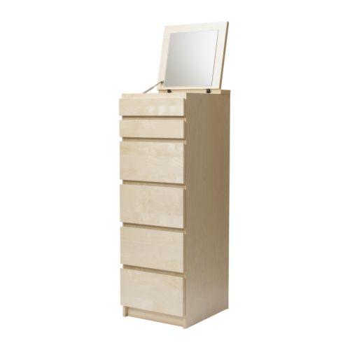 Komplette Zimmereinrichtung Ikea ~ Diese Kommode benutze ich als Schminkaufbewahrung )