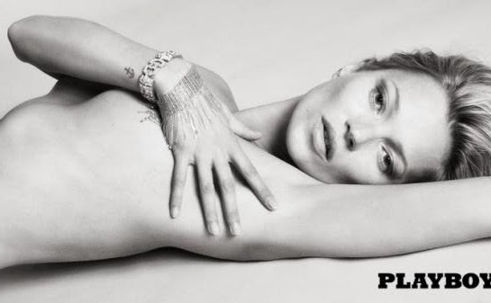 Kate Moss naked for Playboy Anniversary