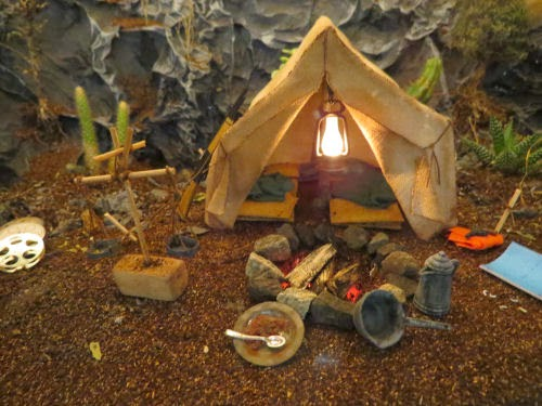 Philadelphia Flower Show 2015- Miniatures: Treasure of the Sierra Madre