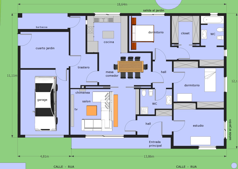 Propiedad horizontal problema para constructores for Un plano de una casa